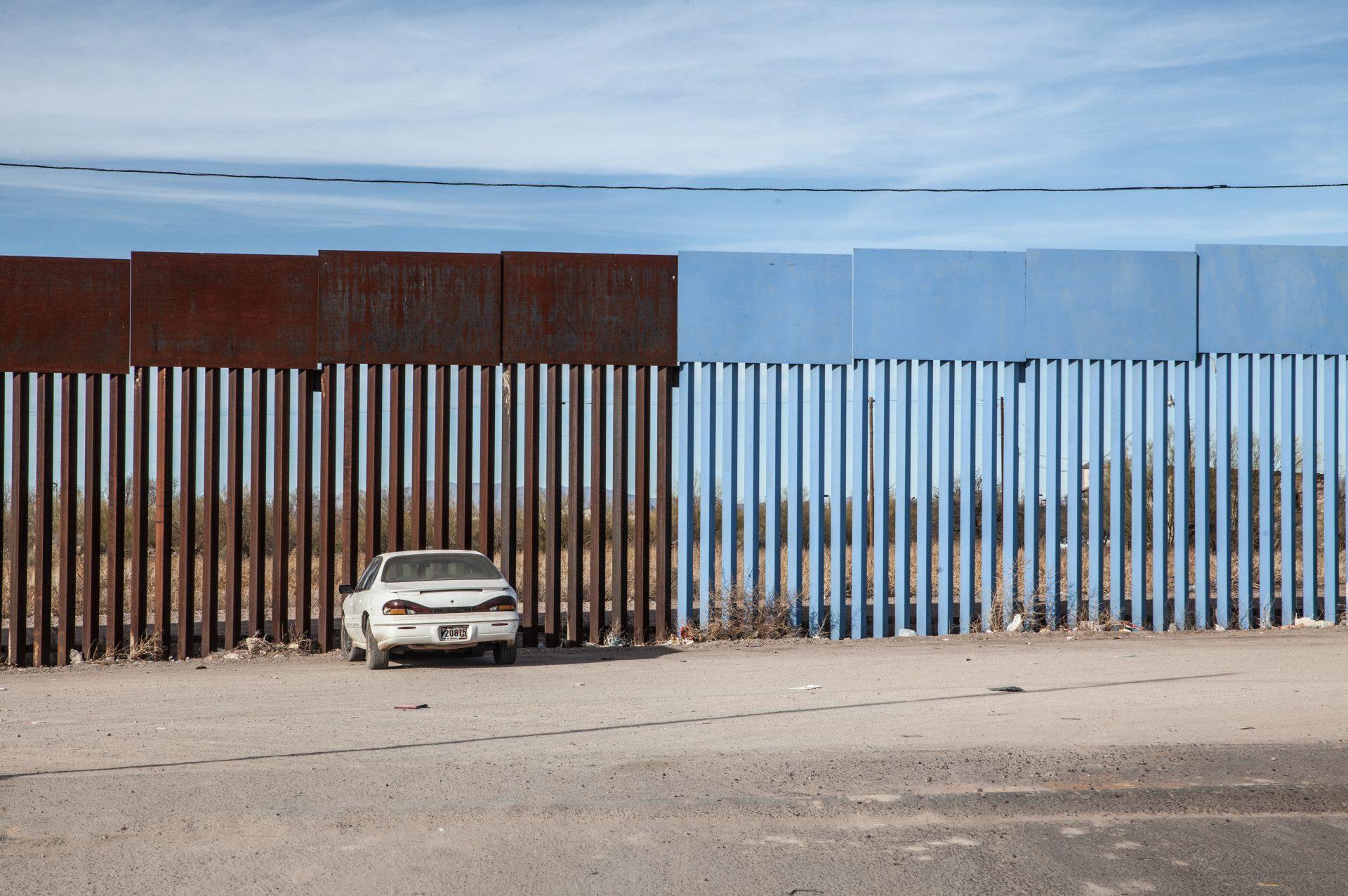 Der Grenzzaun von 2006 spaltet die Bewohner der US-mexikanischen