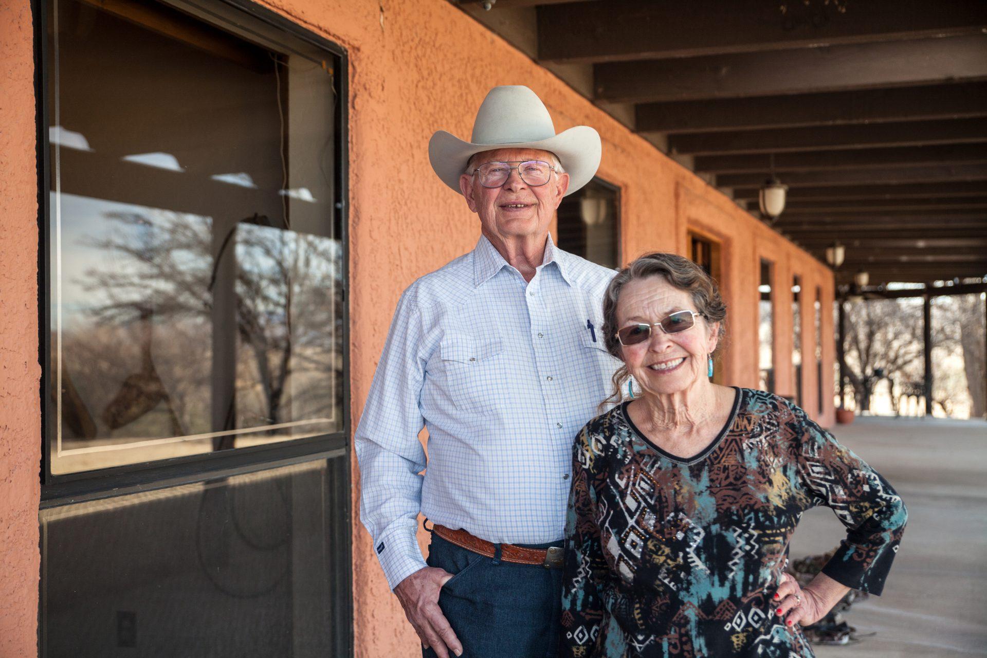 Auf der Ranch von Jim und Sue Chilten gilt das Recht des Stärke