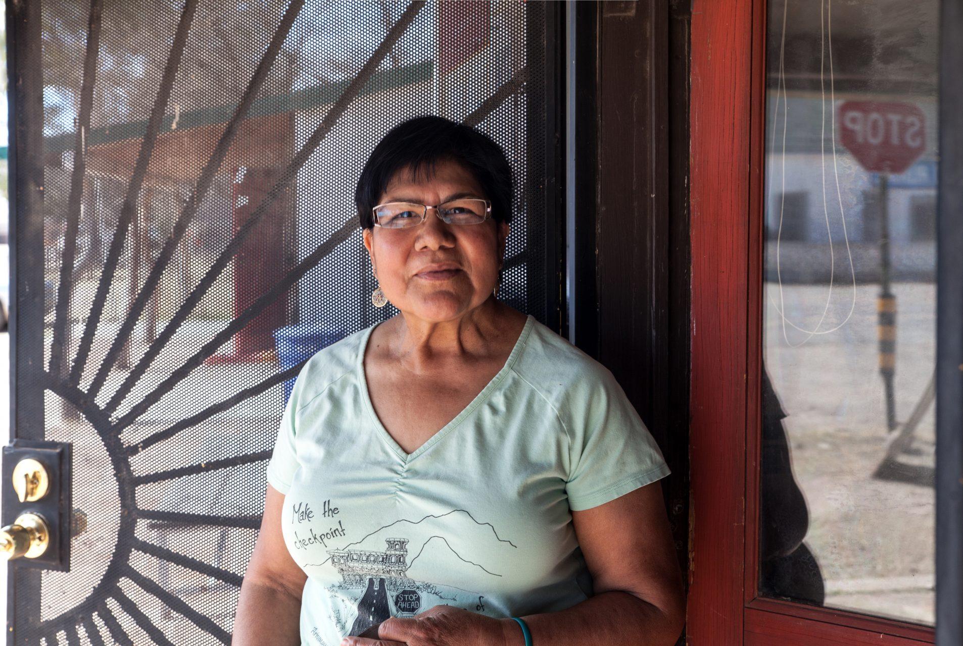 Carlota Wray empfindet die Aufrüstung ihres Grenzdorfs Arivaca